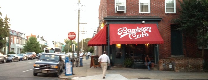 Bamboo Cafe is one of RVA Fan Restaurants.