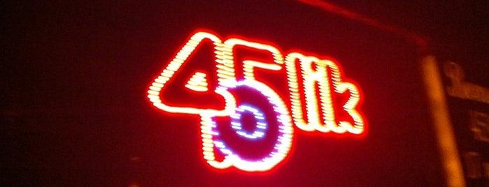 45lik Bar is one of MenümNette - İstanbul Mekanları.