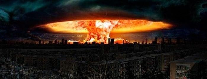 21.12.12. Апокалипсис is one of Locais curtidos por Natalie.