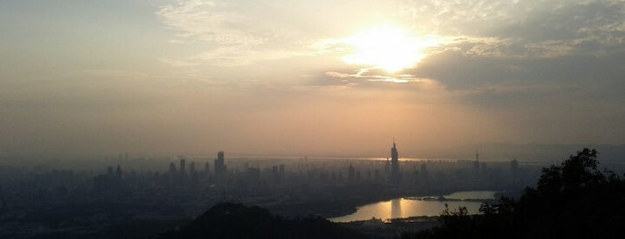 紫金山山顶 Purple Mountain Summit is one of Nanjing.