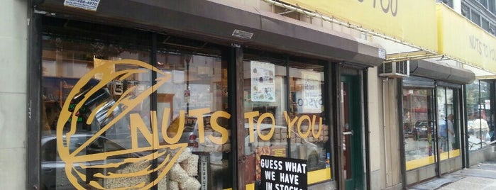Nuts To You - Center City is one of Lugares favoritos de Christopher.