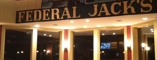 Federal Jack's Brewpub is one of Maine.