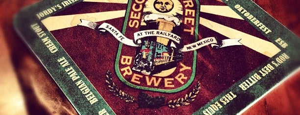 Second Street Brewery on the Railyard is one of Santa Fe Meow Wolves.