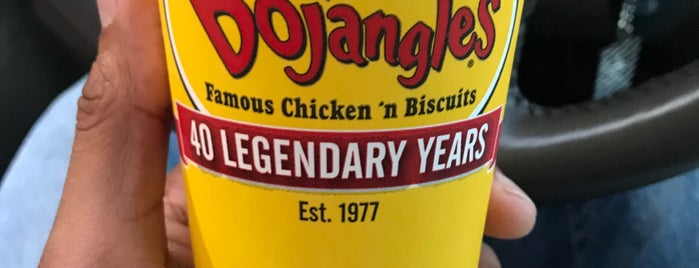 Bojangles' Famous Chicken 'n Biscuits is one of สถานที่ที่ Alex ถูกใจ.