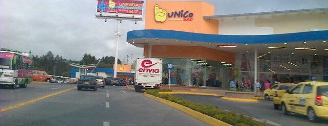 Centro Comercial Unico is one of Posti che sono piaciuti a Luz Angela.