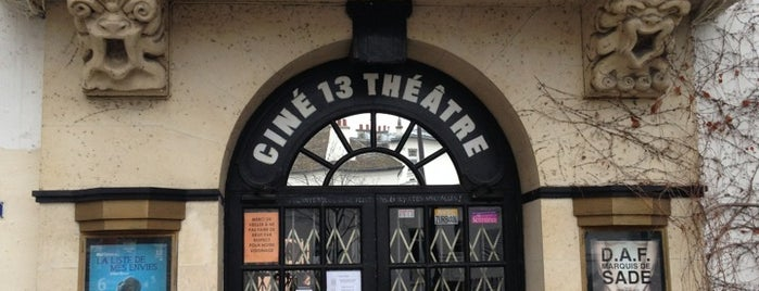 Ciné 13 Théâtre is one of Montmartre.