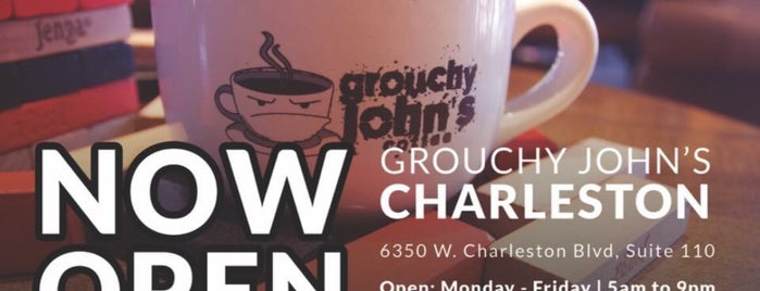 Grouchy John's Coffee is one of Coffee shops.