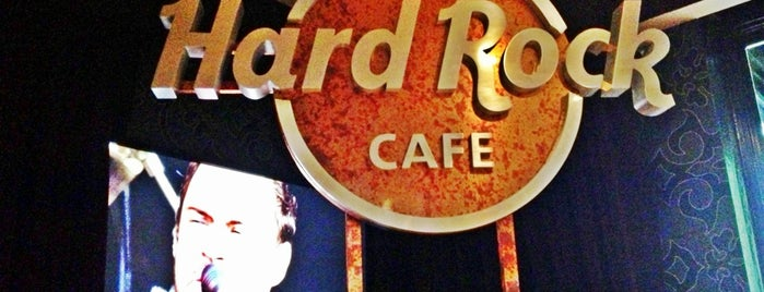 Hard Rock Cafe San Antonio is one of Posti che sono piaciuti a Jan.