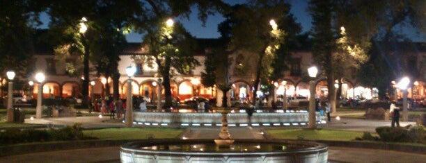 Plaza Vasco de Quiroga is one of Patzcuaro.