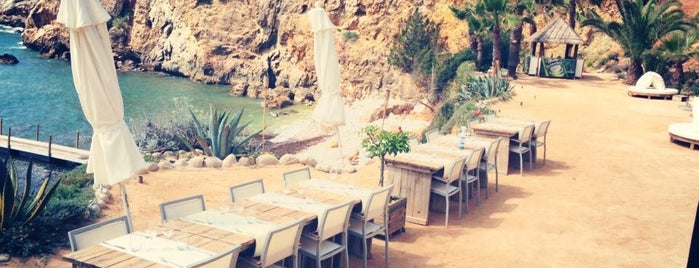 Amante Beach Club Ibiza is one of Spain Luxury, Cool & Chic.