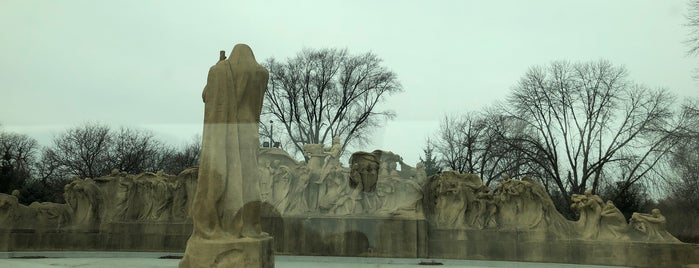 """Lorado Taft's """"Fountain of Time"""" is one of CHI."""