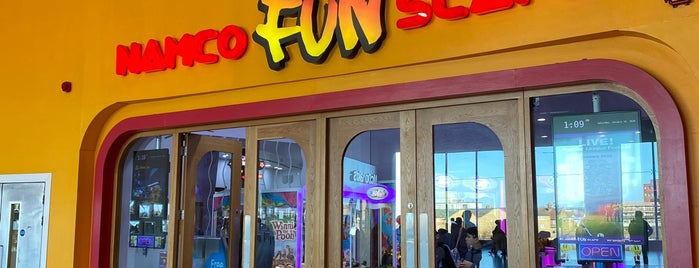 Namco Funscape is one of London Pass.