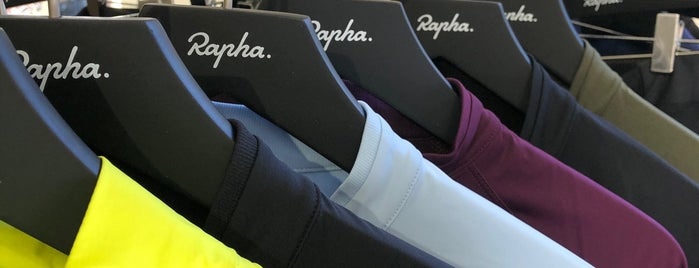 Rapha Cycle Club is one of London.