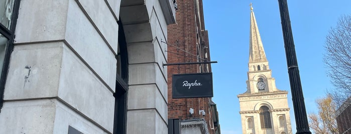 Rapha Cycle Club is one of Amsterdam.