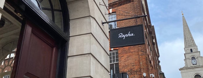 Rapha Cycle Club is one of Visiting London.