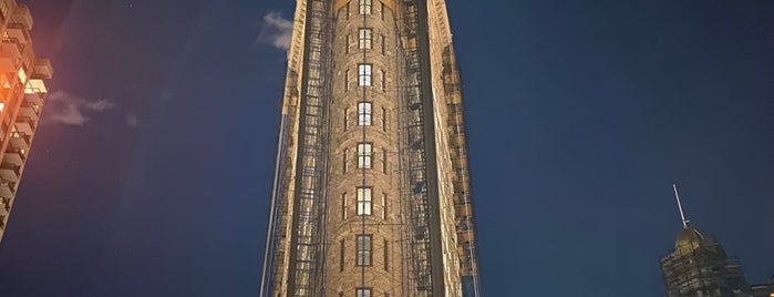 Flatiron Building is one of Cool places to see in NYC.