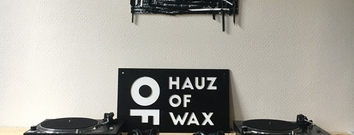 Hauz Of Wax is one of sanne's Liked Places.