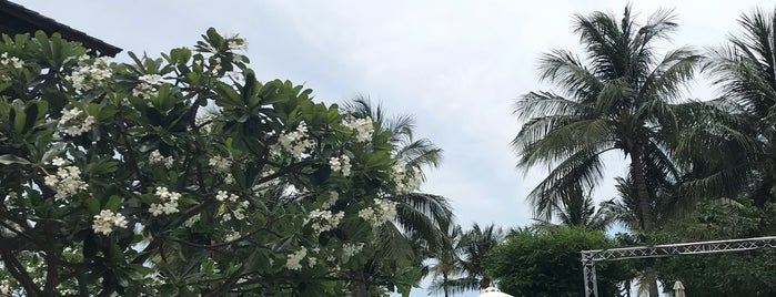 Palayana Villas and Resort Hua Hin is one of Tempat yang Disukai Christine.