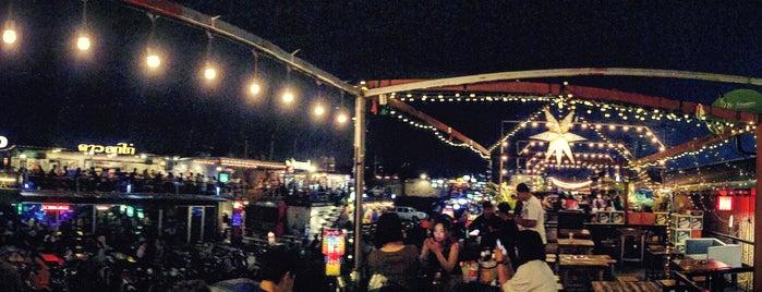 Train Night Market Ratchada is one of Christine 님이 좋아한 장소.