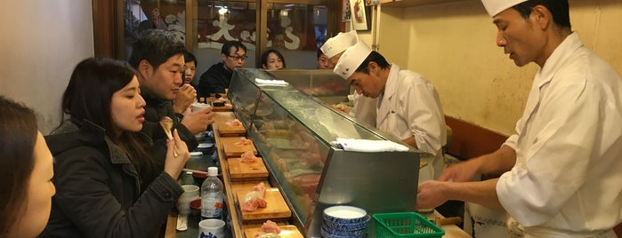 Daiwa Sushi is one of Tokyo.