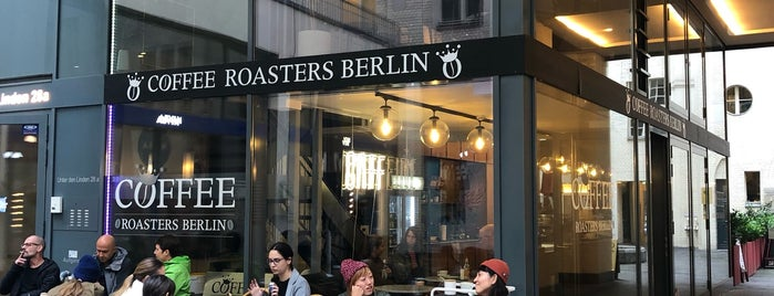 Coffee Roasters Berlin is one of Orte, die Stefan gefallen.