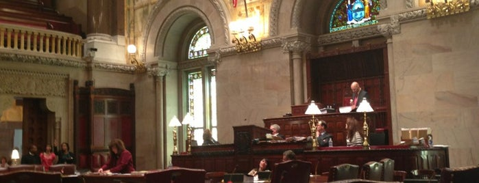 New York State Senate Chamber is one of FAVORITE.