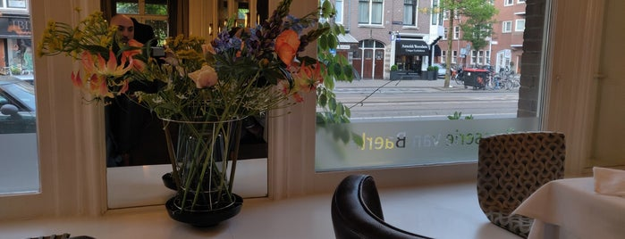 Brasserie van Baerle is one of Amsterdam Fresh List.