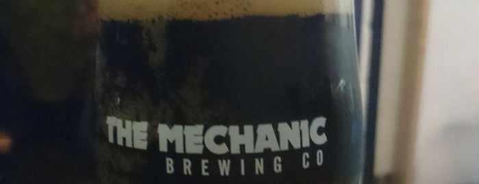 Mechanic Brewery is one of London's Best for Beer.