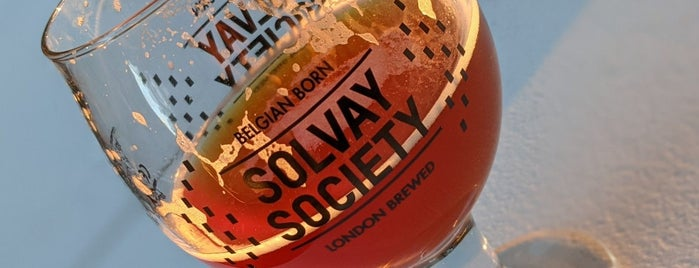 Solvay Society Tap Room is one of Leytonstone and around.