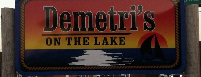 Demetri's on the Lake is one of WNY Restaurants.
