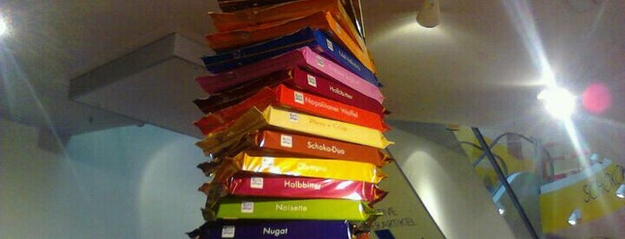 Ritter Sport Bunte Schokowelt is one of StorefrontSticker #4sqCities: Berlin.