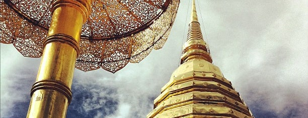 Wat Phrathat Doi Suthep is one of Lugares favoritos de Chuck.