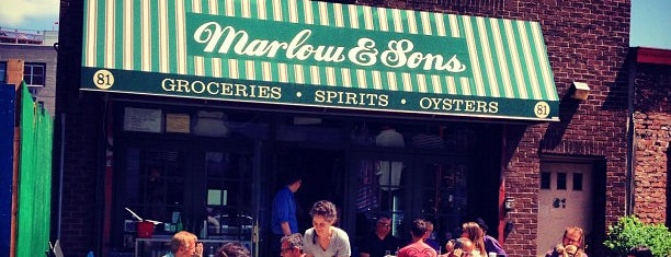 Marlow & Sons is one of Bons plans NYC.