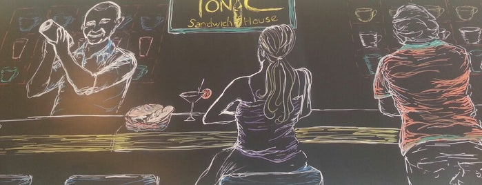 Tonic Sandwich House is one of Lugares guardados de Bego.