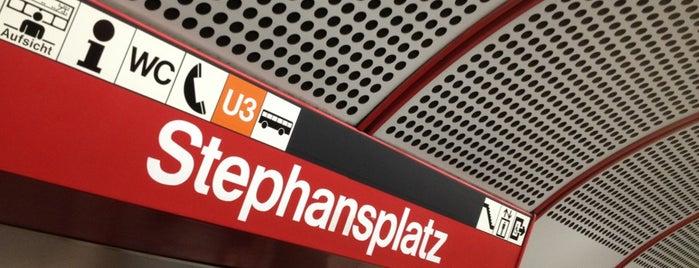 U Stephansplatz is one of Österreich.