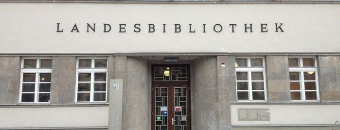 Landesbibliothek is one of Gespeicherte Orte von Gerda.