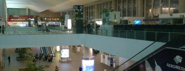 Aeropuerto Internacional de la Ciudad de México (MEX) is one of Airports of the World.