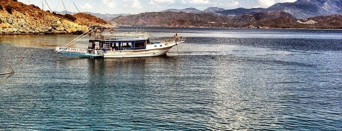 Kızılada is one of Fethiye.