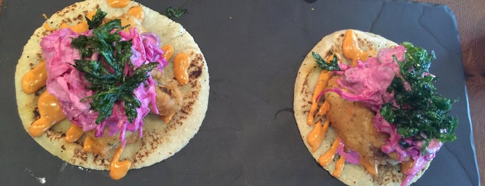 Mole Taco Bar is one of New London Openings 2015.