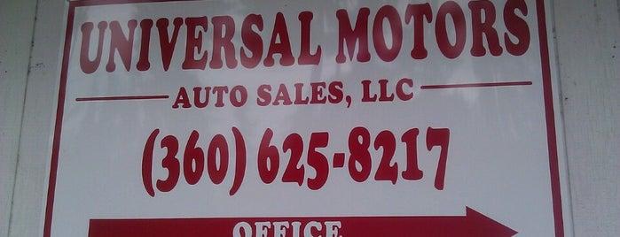 Universal Motors Auto Sales is one of Lieux qui ont plu à Eva.