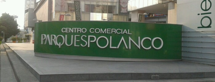 Parques Polanco is one of Ir no México.