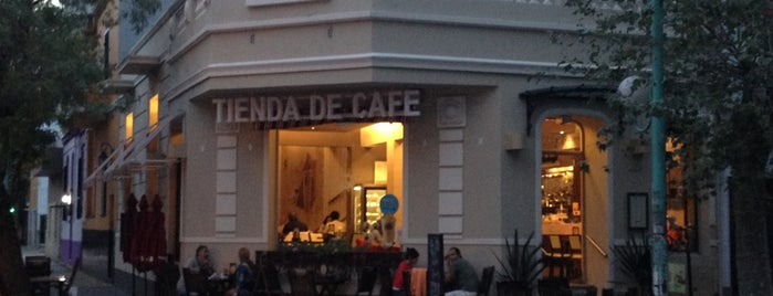 Tienda de Café is one of Wi-Fi access.