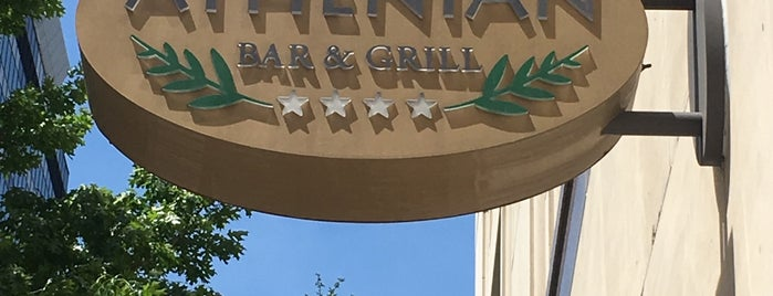 Athenian Bar & Grill is one of Healthy Restaurants.