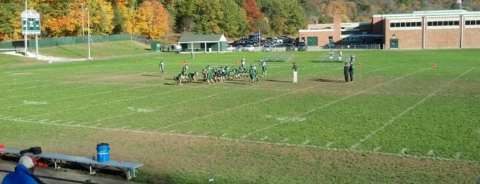 Pentucket Regional High School is one of Places I have been to.