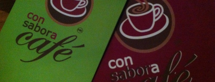 Con Sabor a Café is one of Lugares favoritos de Mayra.