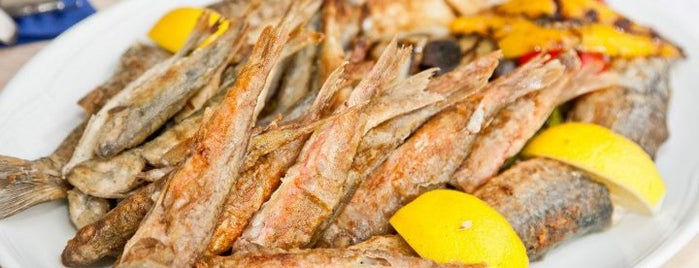 Баркас. Fish & Grill is one of Бизнес ланчи Киева. Business lunch. Kyiv.