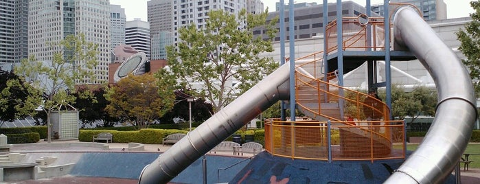 Yerba Buena Gardens Play Circle is one of parks.