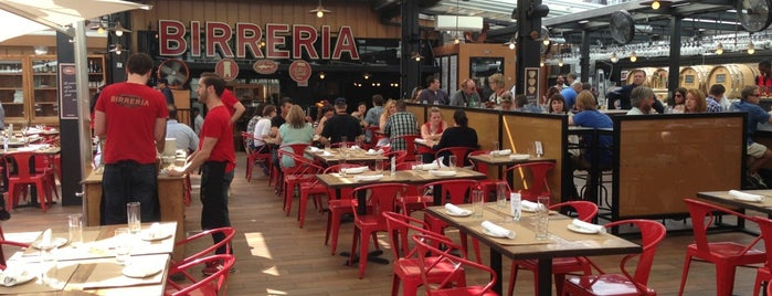 Birreria at Eataly is one of Roof Tops of NYC.