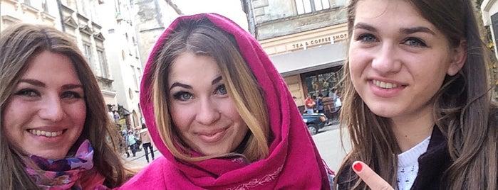 Площа Ринок is one of Александра'ın Kaydettiği Mekanlar.
