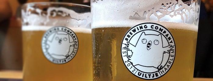 Uiltje Brewery & Taproom is one of Beer / Ratebeer's Top 100 Brewers [2020].